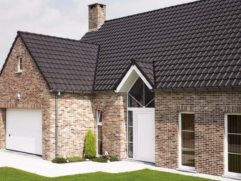 Select clay roof tiles